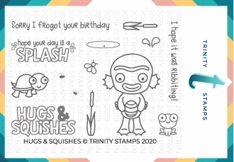 Trinity Stamps HUGS AND SQUISHES Clear Stamp Set tps043
