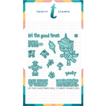 Trinity Stamps LET THE GOOD TIMES ROLL Die Set tmdc38