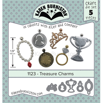 Karen Burniston TREASURE CHARMS Dies 1123