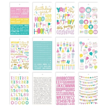 Simple Stories MAGICAL BIRTHDAY 4 x 6 Stickers 12918