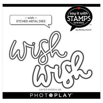 PhotoPlay WISH Die Set sis2146