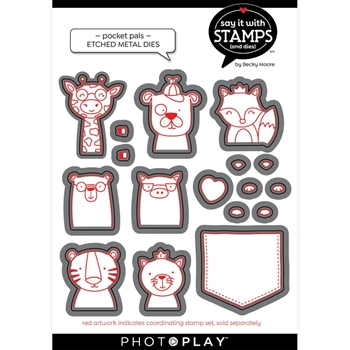PhotoPlay POCKET PALS Die Set sis2152
