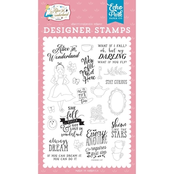 Echo Park ALWAYS DREAM Clear Stamps wo214042