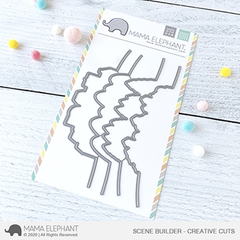 Mama Elephant SCENE BUILDER Creative Cuts Steel Dies
