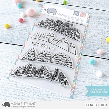 Mama Elephant Clear Stamps SCENE BUILDER