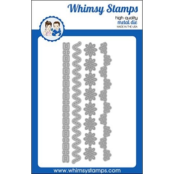 Whimsy Stamps FESTIVE EDGERS Dies WSD457