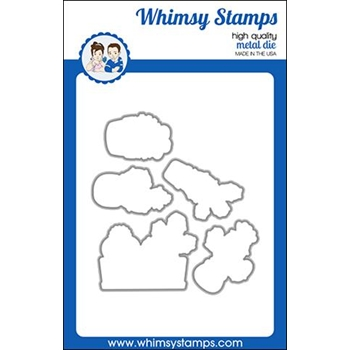 Whimsy Stamps CUTE CACTI Outline Dies WSD456