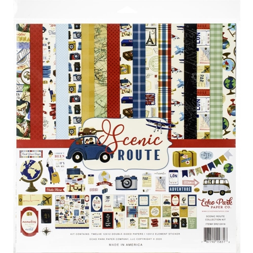 Echo Park SCENIC ROUTE 12 x 12 Collection Kit sr212016 Preview Image