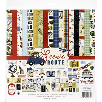 Echo Park SCENIC ROUTE 12 x 12 Collection Kit sr212016