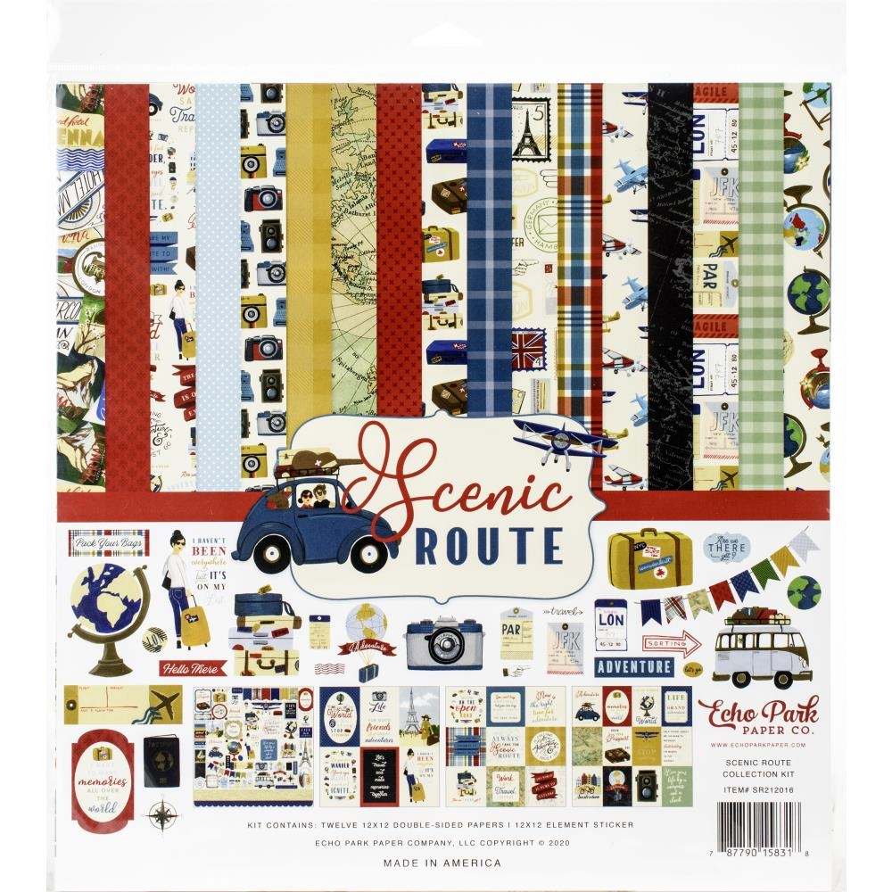 Echo Park SCENIC ROUTE 12 x 12 Collection Kit sr212016 zoom image