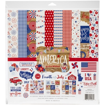 Echo Park AMERICA 12 x 12 Collection Kit am213016
