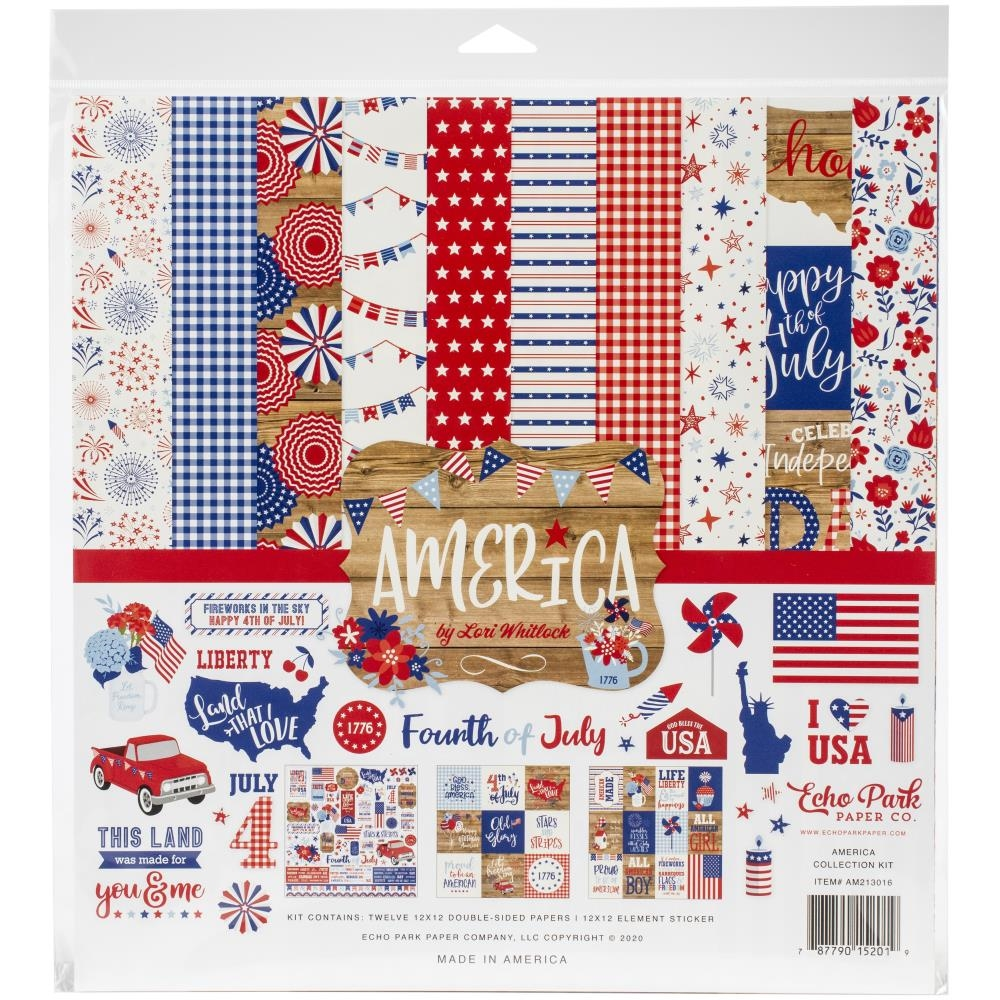 Echo Park AMERICA 12 x 12 Collection Kit am213016 zoom image