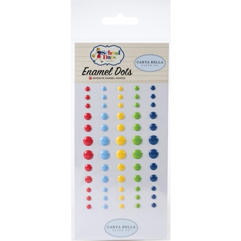 Carta Bella SCHOOL DAYS Enamel Dots cbds118028