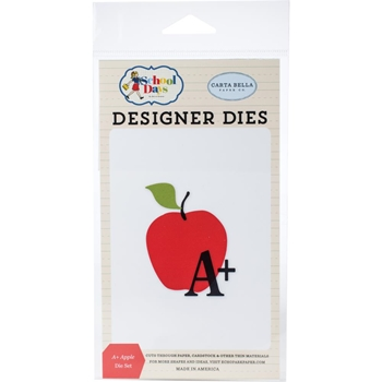 Carta Bella A PLUS APPLE Dies Set cbds118040