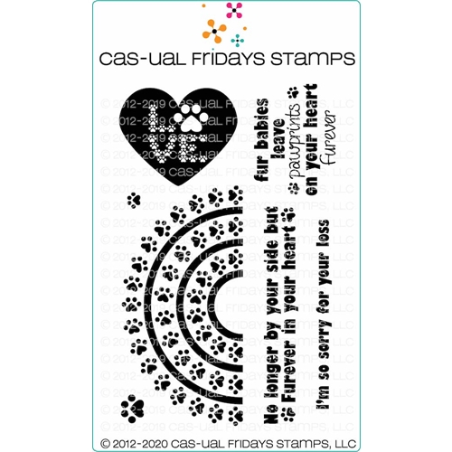 CAS-ual Fridays RAINBOW BRIDGE Clear Stamps cfs2005 Preview Image