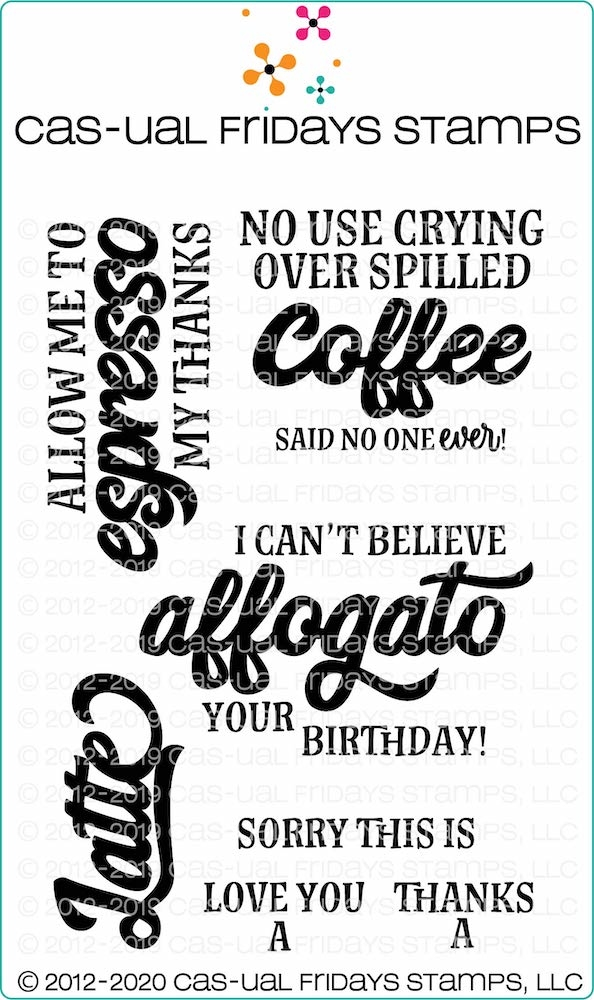 CAS-ual Fridays COFFEE'ISMS Clear Stamps cfs2001* zoom image