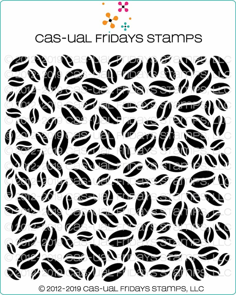 CAS-ual Fridays BY THE BEANS Stencil cfst2001 zoom image