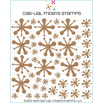 CAS-ual Fridays JACKS Chipboard Die Cut Shapes cfcb2001*