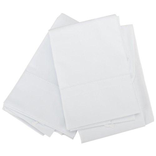 Aunt Martha's WHITE PILLOWCASE PAIR Queen Stitch 'Em Up 0728 Preview Image