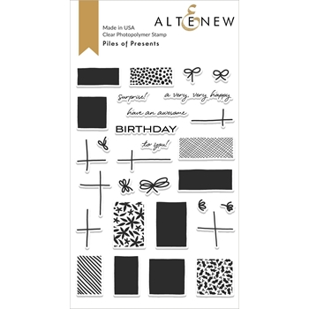 Altenew PILES OF PRESENTS Clear Stamps ALT4015