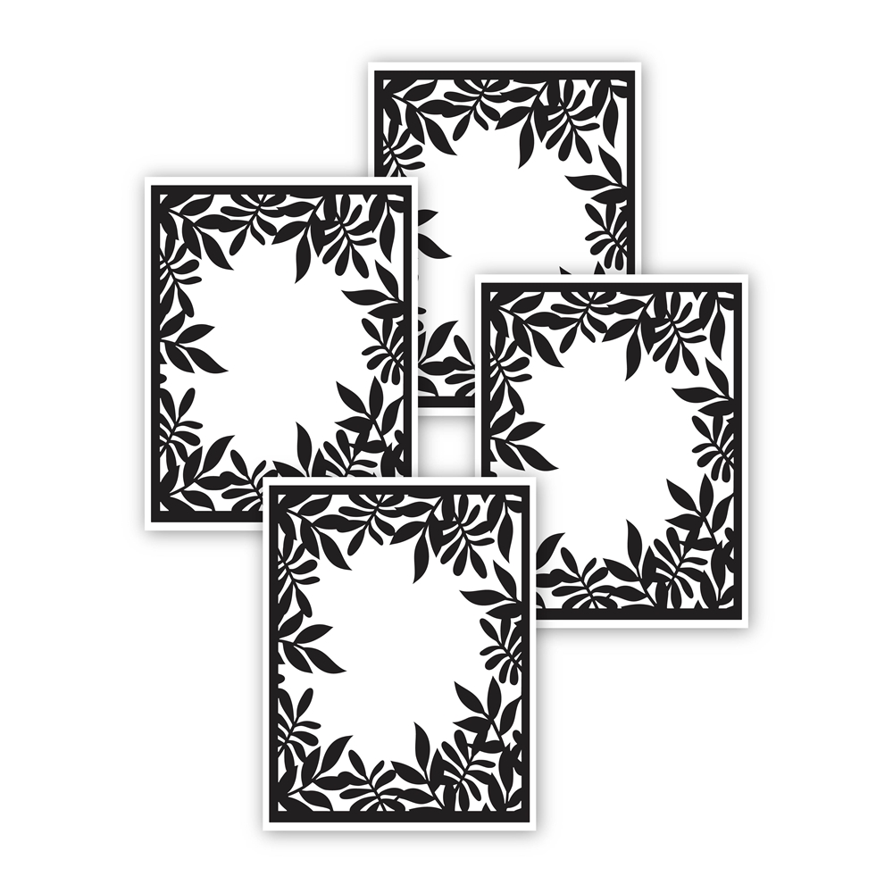 Simon Says Stamp LEAFY FRAMES Acetate Sheets sssf141000 zoom image