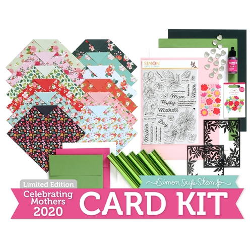Limited Edition Simon Says Stamp Card Kit CELEBRATING MOTHERS 2020 ssscmck Preview Image
