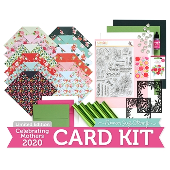 Limited Edition Simon Says Stamp Card Kit CELEBRATING MOTHERS 2020 ssscmck