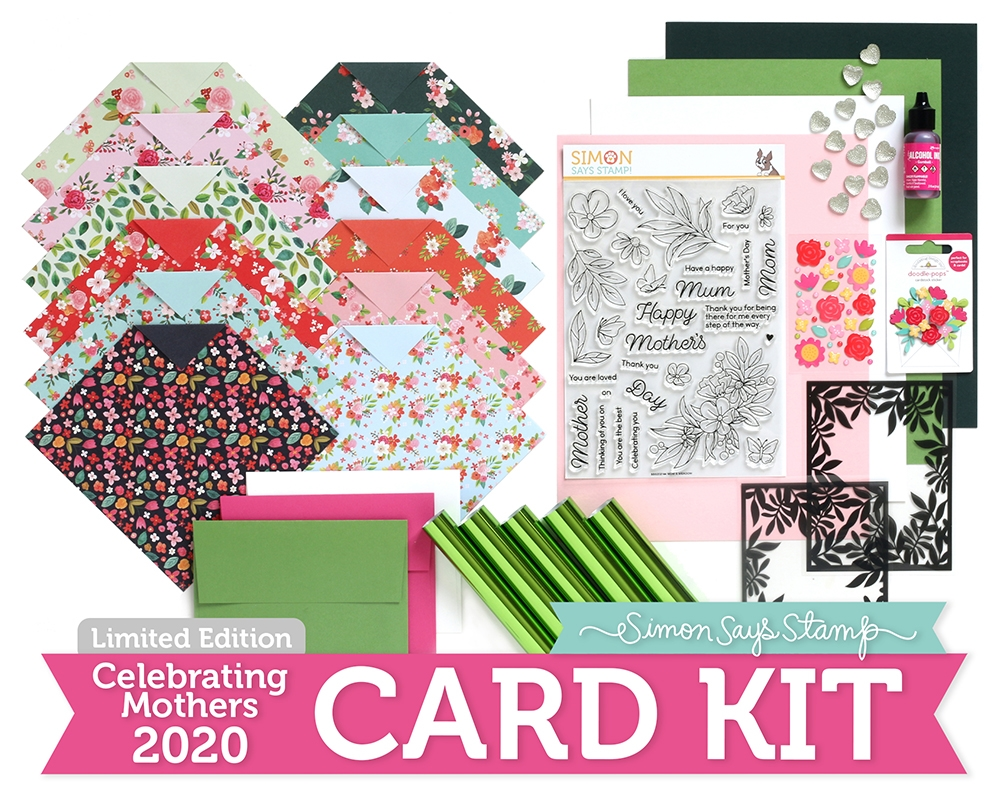 Limited Edition Simon Says Stamp Card Kit CELEBRATING MOTHERS 2020 ssscmck zoom image