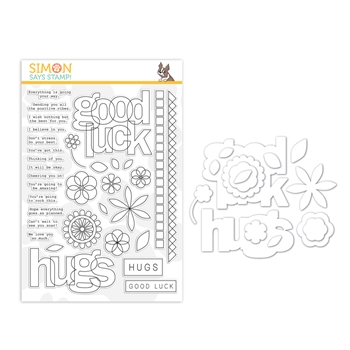 RESERVE Simon Says Stamps And Dies LUCK AND HUGS set382lh Sunny Days Ahead