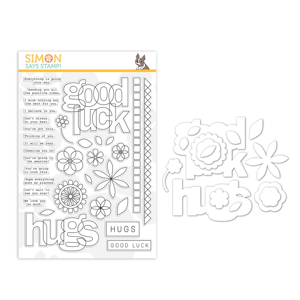 Simon Says Stamps And Dies LUCK AND HUGS set382lh Sunny Days Ahead zoom image