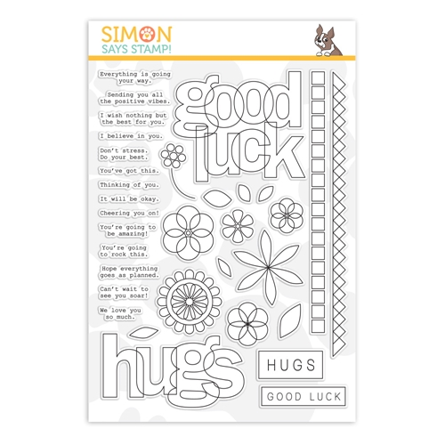Simon Says Clear Stamps LUCK AND HUGS sss202084 Sunny Days Ahead Preview Image