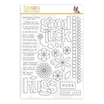 Simon Says Clear Stamps LUCK AND HUGS sss202084 Sunny Days Ahead