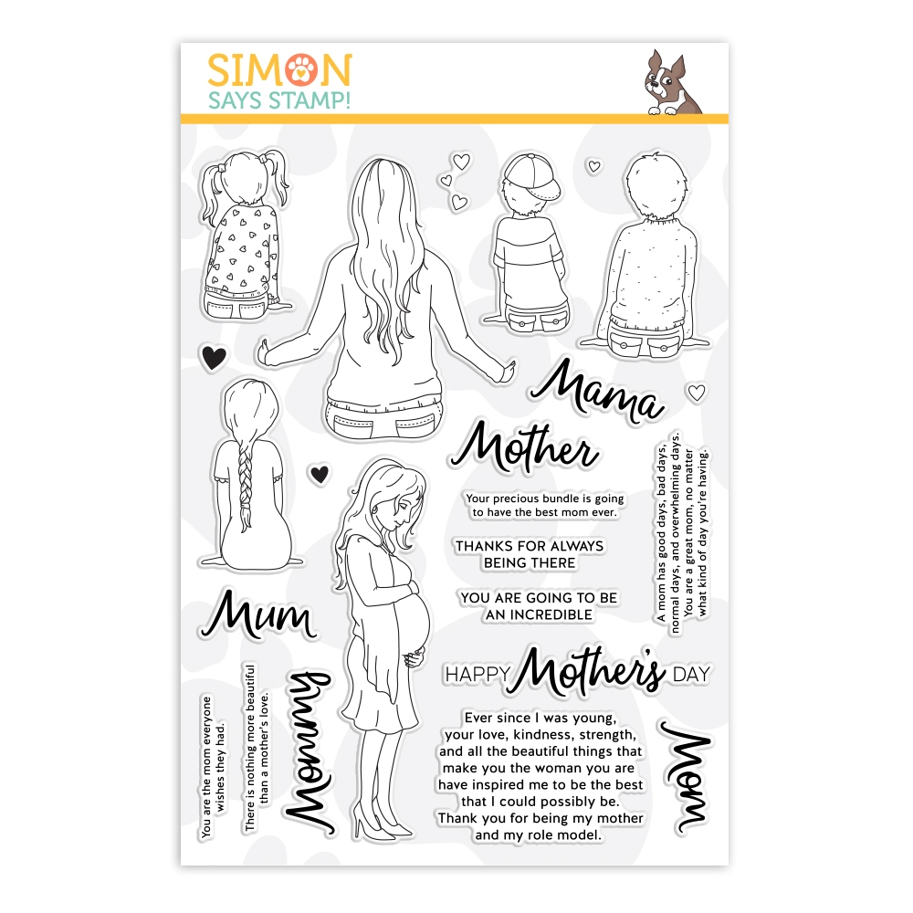 Simon Says Clear Stamps A MAMA'S LOVE sss202119 Sunny Days Ahead zoom image