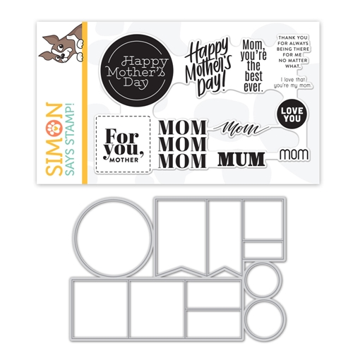 Simon Says Stamps And Dies MOM WORD MIX 2 set385mwm Sunny Days Ahead Preview Image