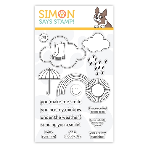 Simon Says Clear Stamps UNDER THE WEATHER sss102126 Sunny Days Ahead Preview Image