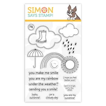 Simon Says Clear Stamps UNDER THE WEATHER sss102126 Sunny Days Ahead