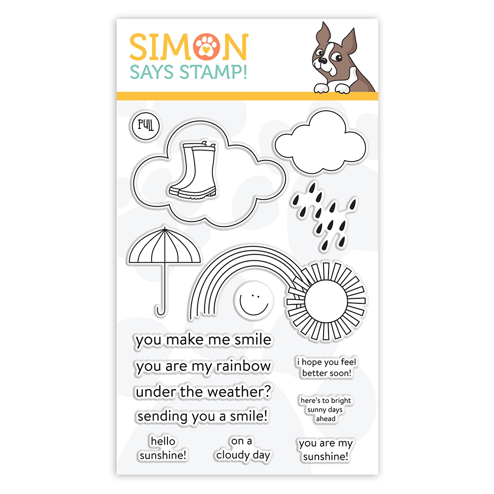 Simon Says Clear Stamps UNDER THE WEATHER sss102126 Sunny Days Ahead zoom image
