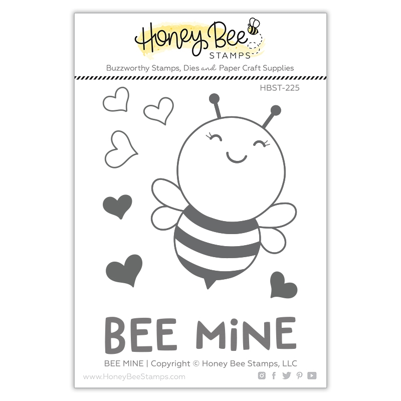Honey BEE MINE Clear Stamp Set hbst225* zoom image