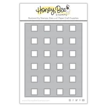 Honey Bee BUFFALO PLAID COVER PLATE Dies hbds242*