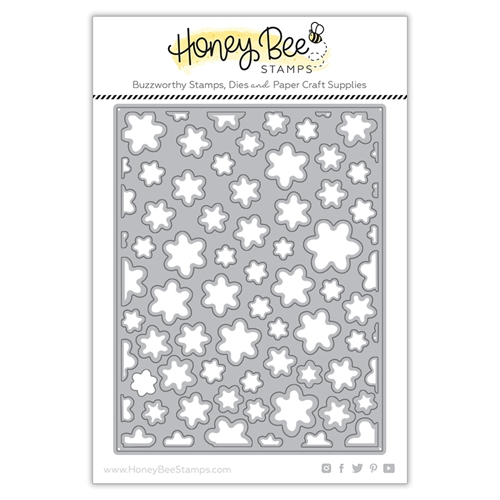 Honey Bee FLOWER PETAL COVER PLATE Dies hbdsfpcp Preview Image