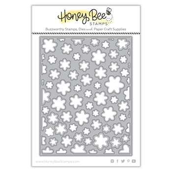 Honey Bee FLOWER PETAL COVER PLATE Dies hbdsfpcp