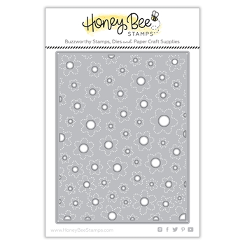Honey Bee FLOWER CENTERS COVER PLATE Dies hbdsfccp