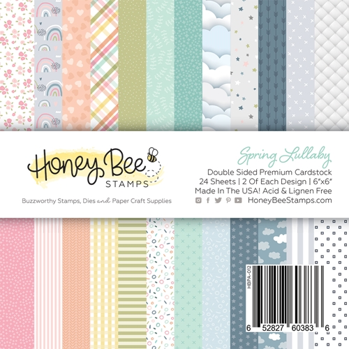 Honey Bee SPRING LULLABY 6 x 6 Paper Pad hbpa012 Preview Image