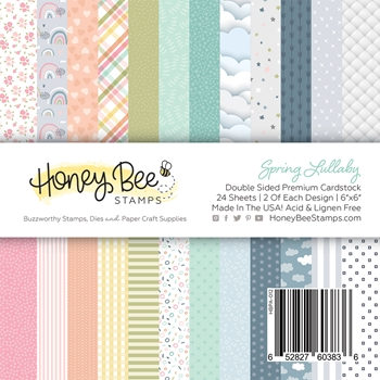 Honey Bee SPRING LULLABY 6 x 6 Paper Pad hbpa012