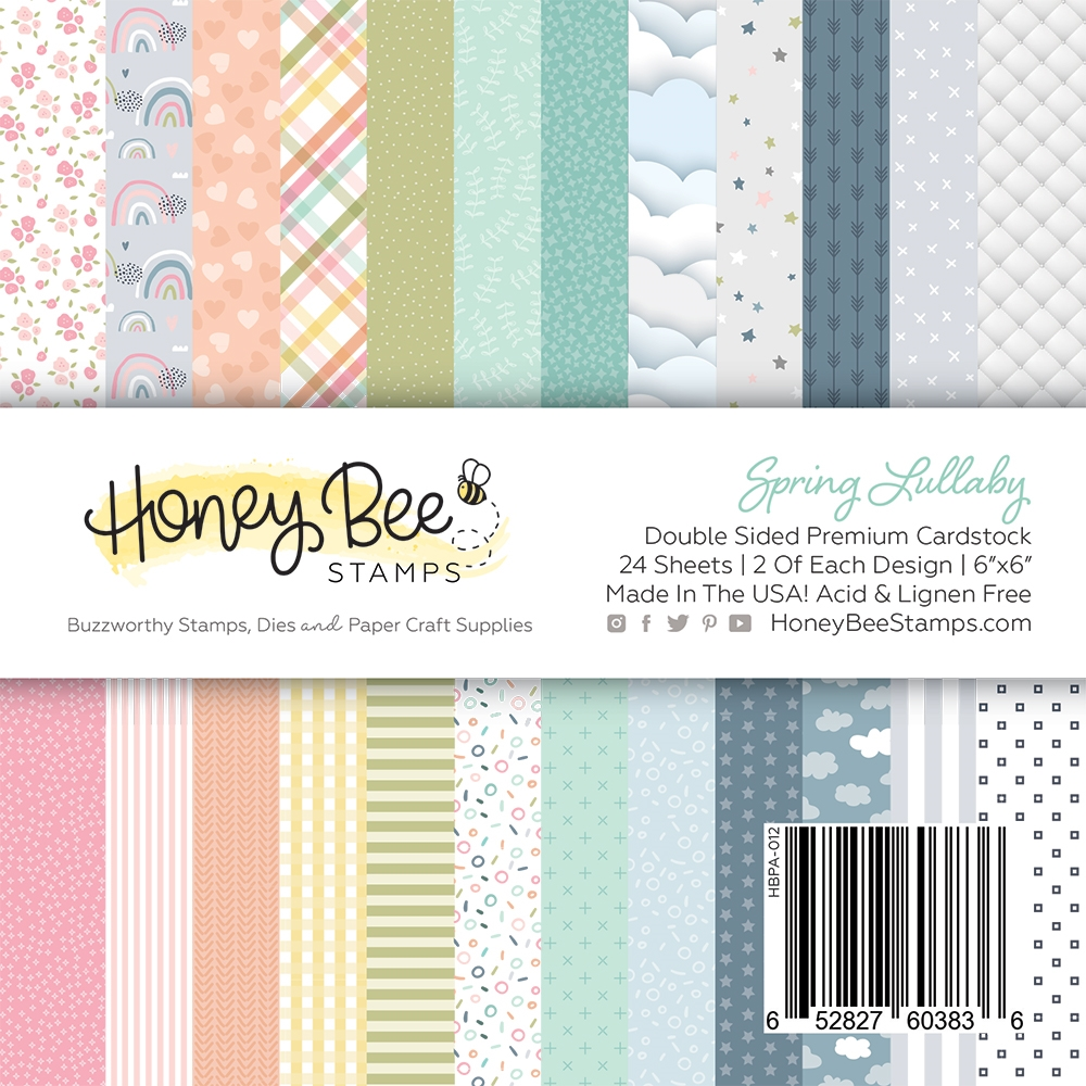 Honey Bee SPRING LULLABY 6 x 6 Paper Pad hbpa012 zoom image