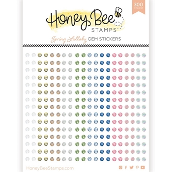 Honey Bee SPRING LULLABY Gem Stickers hbgs013