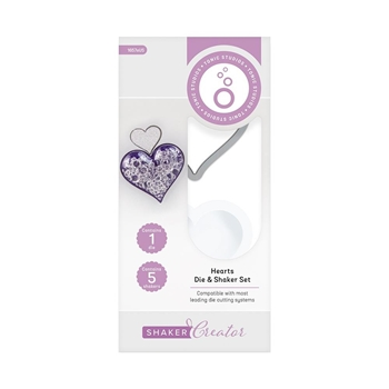 Tonic HEART Simple Shapes Die And Shaker Set 1657e