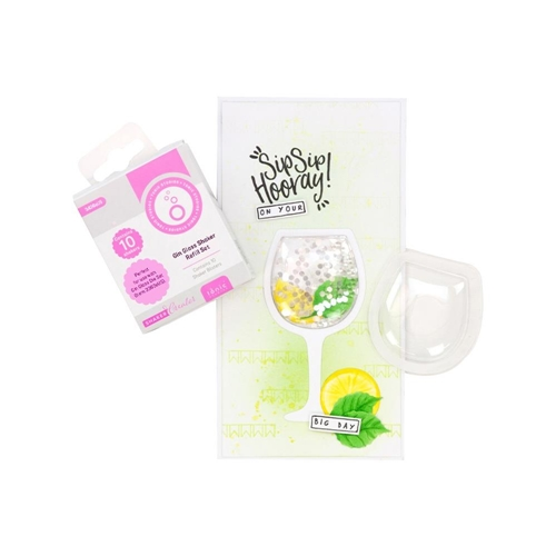 Tonic GIN GLASS Simple Shaker Refill Set 3436e Preview Image