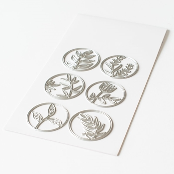 Pinkfresh Studio FLORAL CIRCLES Die Set pfsa1720