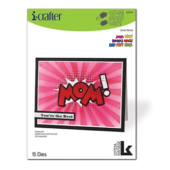 i-Crafter COMIC WORDS Dies 222041